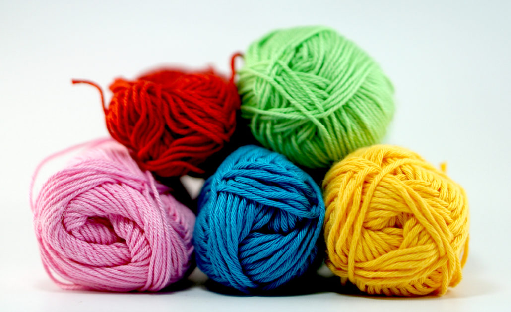 Different brands of cotton yarn
