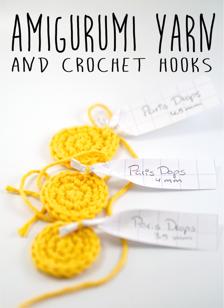 Yarn And Hook Combination For Crocheting Amigurumi Sugaridoo