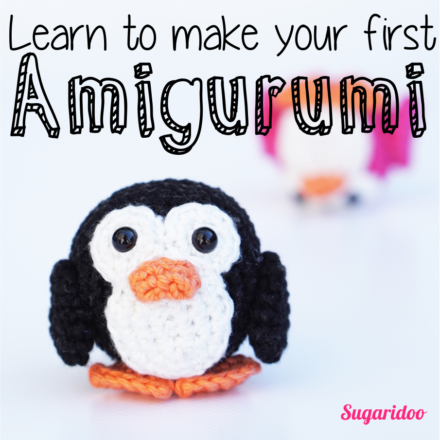 Learn to make your very first Amigurum